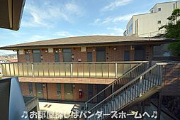 大阪府枚方市岡山手町の賃貸アパートの外観