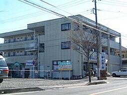 埼玉県東松山市元宿1丁目の賃貸アパートの外観