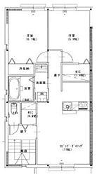 セーヌアンジェ赤穂II[2階]の間取り