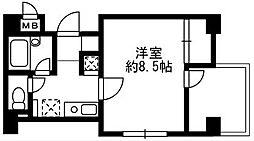ソナーレ湘南台[4階]の間取り