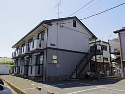 茨城県取手市新町1丁目の賃貸アパートの外観
