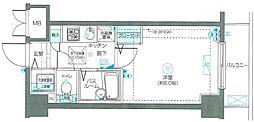神奈川県横浜市南区高砂町2の賃貸マンションの間取り
