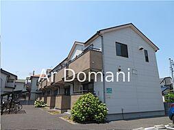千葉県松戸市古ケ崎4丁目の賃貸アパートの外観