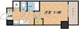 プレサンス大阪城公園パークプレイス[2階]の間取り