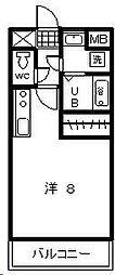 T・Yマンション2[603号室]の間取り