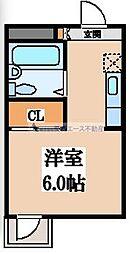 シャトール源氏ケ丘[3階]の間取り