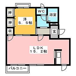 DIAS PRIMAVERA[2階]の間取り