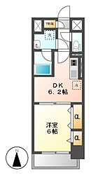 ル・ソレイユ[8階]の間取り