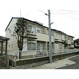 千葉県流山市江戸川台西3の賃貸アパートの外観