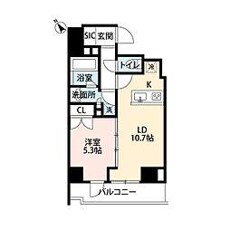 レジディア文京本郷III[10階]の間取り