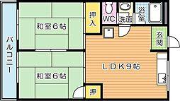 安永第一ビル[6階]の間取り