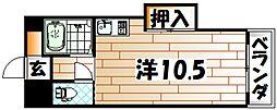 メゾン苅田[5階]の間取り