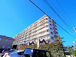 埼玉県新座市野火止4丁目の賃貸マンションの外観