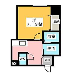 MUSE SINTERA[6階]の間取り