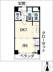 ハートランド21[1階]の間取り