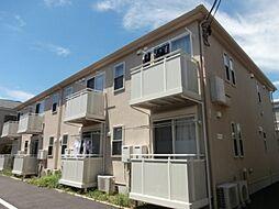 東京都三鷹市新川3の賃貸アパートの外観