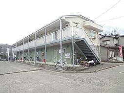 広島県広島市安佐南区大町東1丁目の賃貸アパートの外観