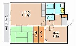 青山弐番館[3階]の間取り