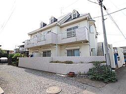 千葉県我孫子市根戸の賃貸アパートの外観