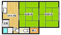 仁田文化[2階]の間取り