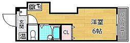 ハートビル[4階]の間取り
