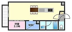 Confuerza[2階]の間取り