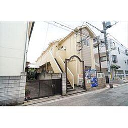 東京都世田谷区上北沢4丁目の賃貸アパートの外観