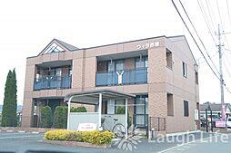 埼玉県入間郡毛呂山町大字川角の賃貸アパートの外観