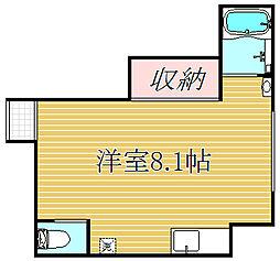 アイコート経堂[1階]の間取り