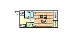 シャトレ小阪[305号室]の間取り
