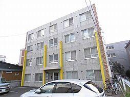 北海道札幌市白石区東札幌四条1の賃貸マンションの外観