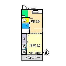 ドリームハウス1[2階]の間取り