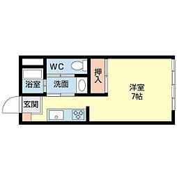 銀清ビル[2階]の間取り