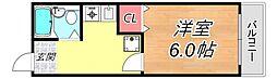 ヴィラエスポワールII[2階]の間取り