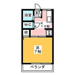 クレマチスA[2階]の間取り