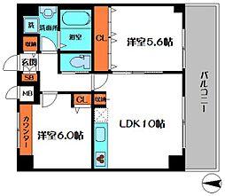 スペイサイドK[8階]の間取り