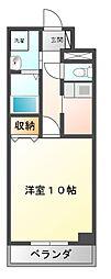 ビッグ・ビー東宿郷[7階]の間取り