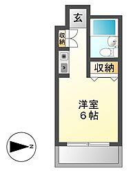 メゾン・ド・シャンテ[2階]の間取り