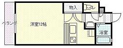 宮崎県宮崎市源藤町の賃貸マンションの間取り
