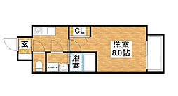 S-RESIDENCE新大阪WEST[9階]の間取り