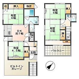 北野駅 7.0万円