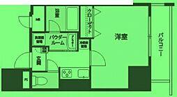 東京都台東区千束の賃貸マンションの間取り