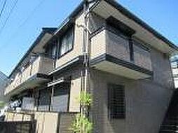東京都目黒区下目黒5丁目の賃貸アパートの外観