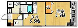 St.HILLS[7階]の間取り