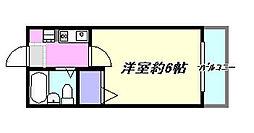 第3山田ハイツ 3-C[3C号室]の間取り