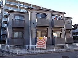 千葉県船橋市高根台6丁目の賃貸アパートの外観