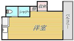 nana[2階]の間取り