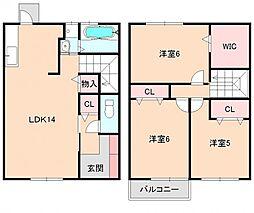 [タウンハウス] 大阪府豊中市本町3丁目 の賃貸【/】の間取り