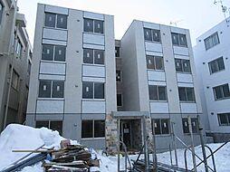 北海道札幌市西区二十四軒一条3丁目の賃貸マンションの外観