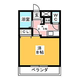伊藤ハイツIII[2階]の間取り